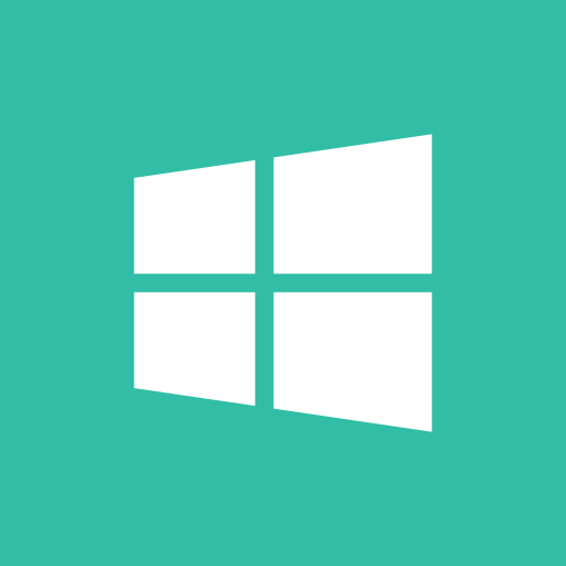 media, online, share, social, windows icon