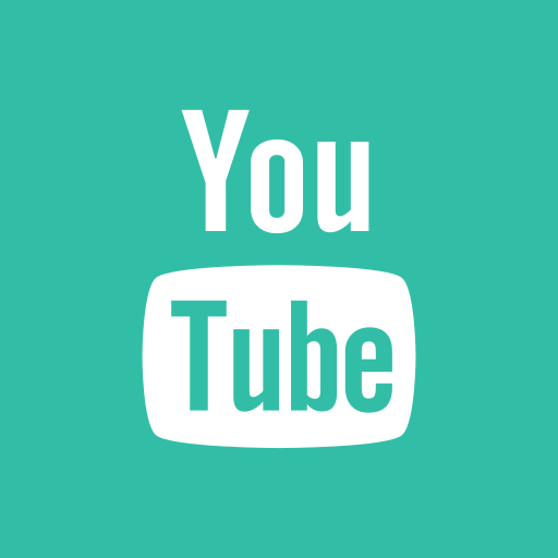 media, online, share, social, youtube icon
