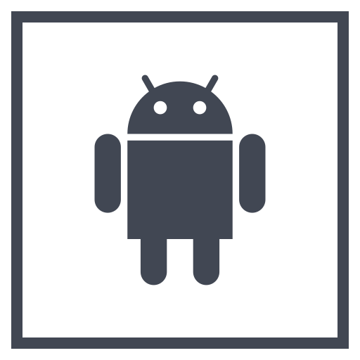 android, logo, media, social icon