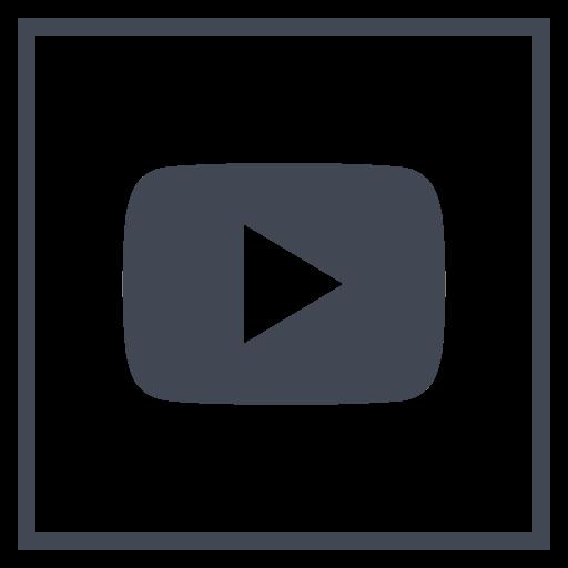 logo, media, play, social icon