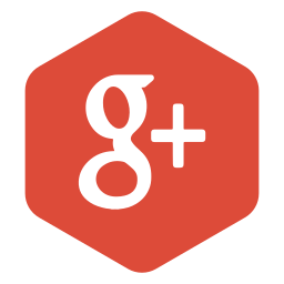 google, hexagon, logo, media, plus, polygon, social icon