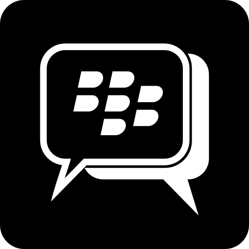 bbm, blackberry, chatting, internet, messages, social media icon
