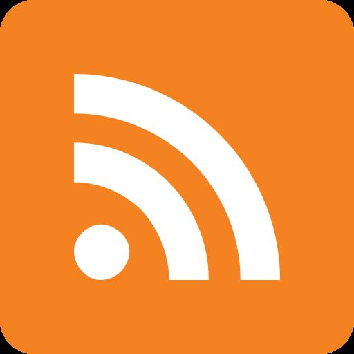 feed, internet, social media icon