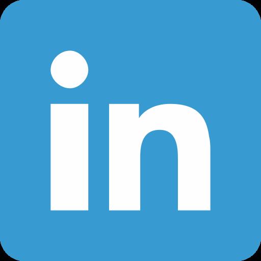 internet, linkedin, social media icon
