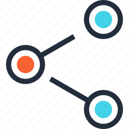 communication, connection, link, media, network, share, social icon