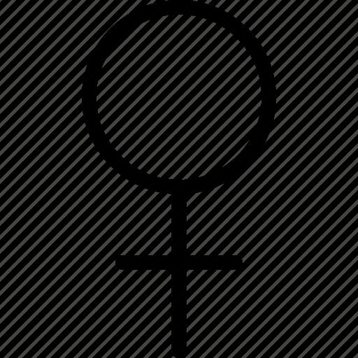 female, female icon, female sign, female symbol, girl icon