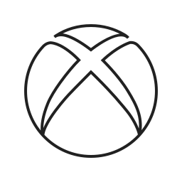 computer, game, media, microsoft, play, video, xbox icon