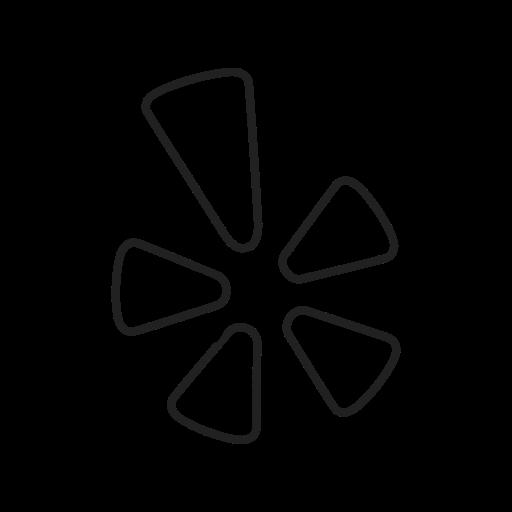 homepage, internet, logo, page, screen, web, yelp icon