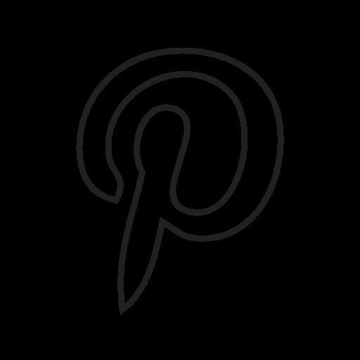 communication, facebook, internet, media, pinterest, social, twitter icon