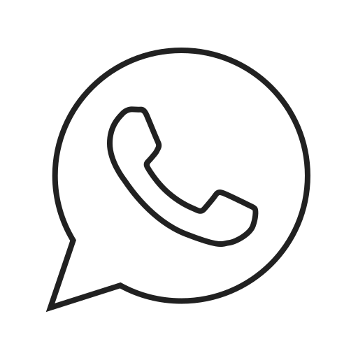 call, contact, logo, media, message, social, whatsapp icon