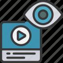 video, ad, views