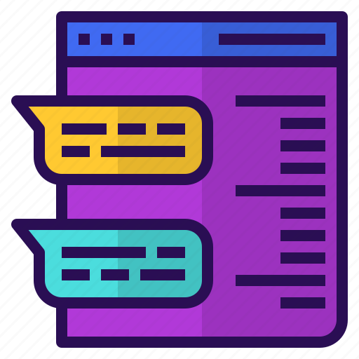 blogs, content, marketing, media, social, storytelling icon