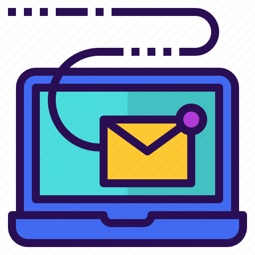 digital, email, marketing, newsletter, sending icon