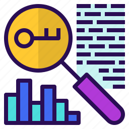 engine, keyword, marketing, optimization, research, search icon