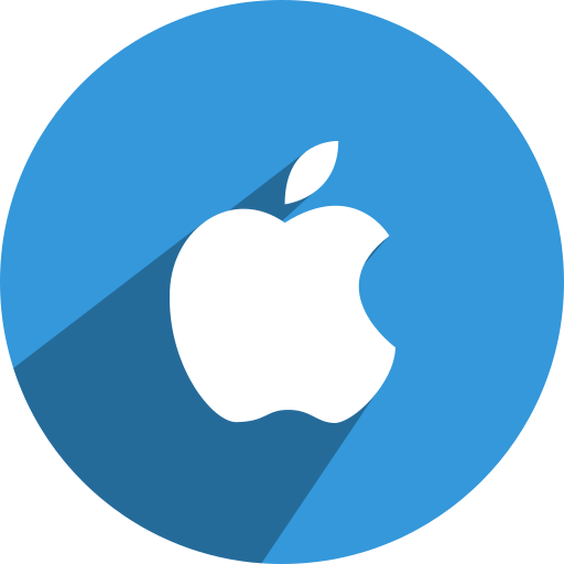 apple, media, network, social icon
