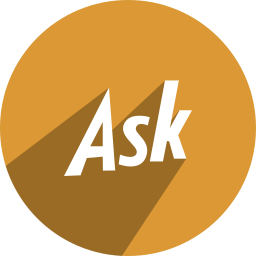 ask, media, network, social icon