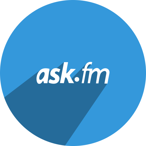 ask, fm, media, network, social icon