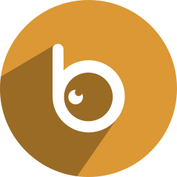 b, b eye, badoo, eye icon