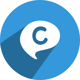 chat, media, network, on, social icon