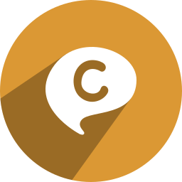c, chat, chat on, on icon