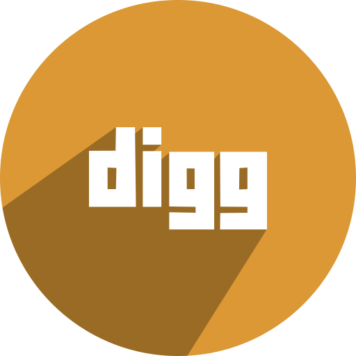 digg, free, media, network, social icon