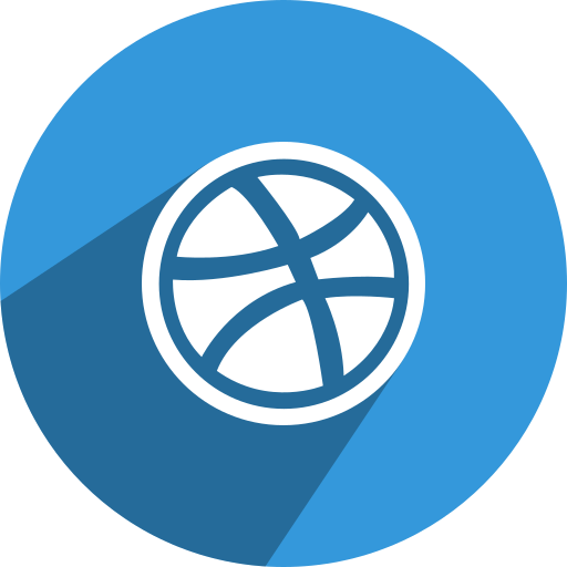 dribbble, free, media, network, social icon