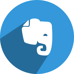 evernote, media, network, social icon