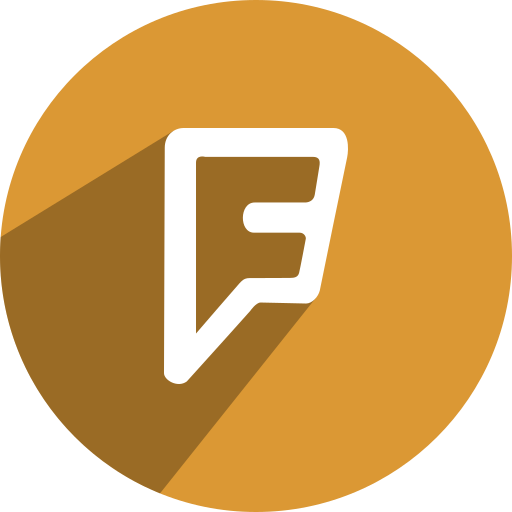 foursquare, free, media, network, social icon