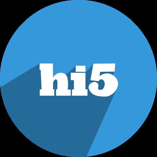 free, hi5, media, network, social icon