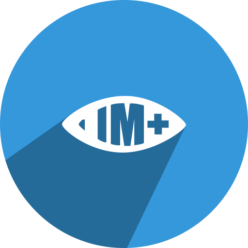 eye, im, im+, view icon