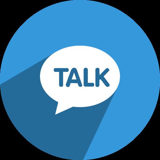 chat, conversation, kakao, media, network, social, talk icon