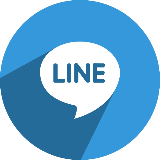 free, line, media, network, social icon