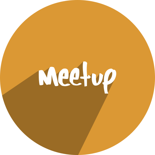 free, media, meetup, network, social icon