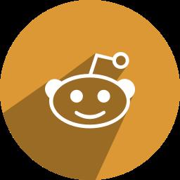 edit, monkey, red, reddit icon