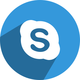 media, network, skype, social icon