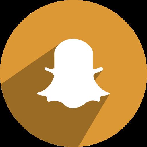 free, media, network, snapchat, social icon