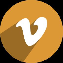 v, vimeo icon