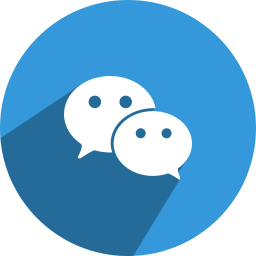 chat, conversation, media, network, social, we, wechat icon