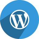 free, media, network, social, wordpress icon