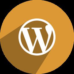 media, network, social, wordpress icon