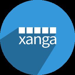 free, media, network, social, xanga icon