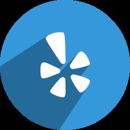 free, media, network, social, yelp icon