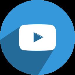 free, media, network, play, social, video, youtube icon