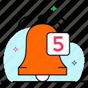 activity bell, alert, bell, notification, notification alert, unread notification, warning icon