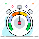 effectiveness, efficiency, performance, productivity, speed optimization icon