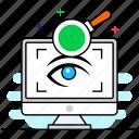 search engine optimization, seo, seo analysis, seo exploration, seo monitoring icon