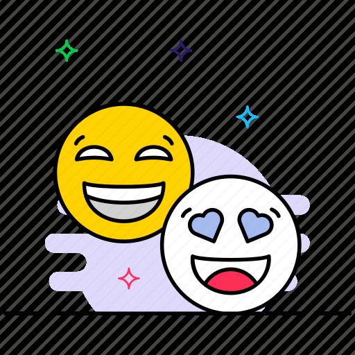 emoji, emotag, emoticon, expression, smiley face icon