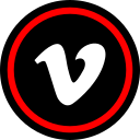 media, online, social, vimeo, web icon