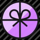 gift, circle