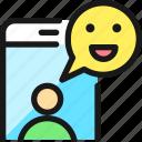 mood, happy, smartphone